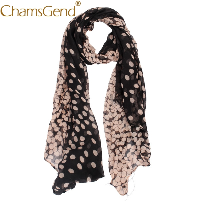 Women's Fashion   scarf   Lady Womens Long Polka Dot   Scarf     Wraps   Shawl Stole Soft   Scarves   Long   Wrap   Women's Shawl Chiffon oct23