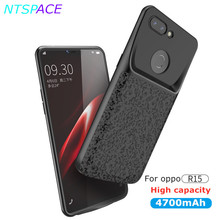 4700mAh External Power bank Battery Case For OPPO R15 Portable Fast Battery Charger Cover Pro Backup Battery Charger Case