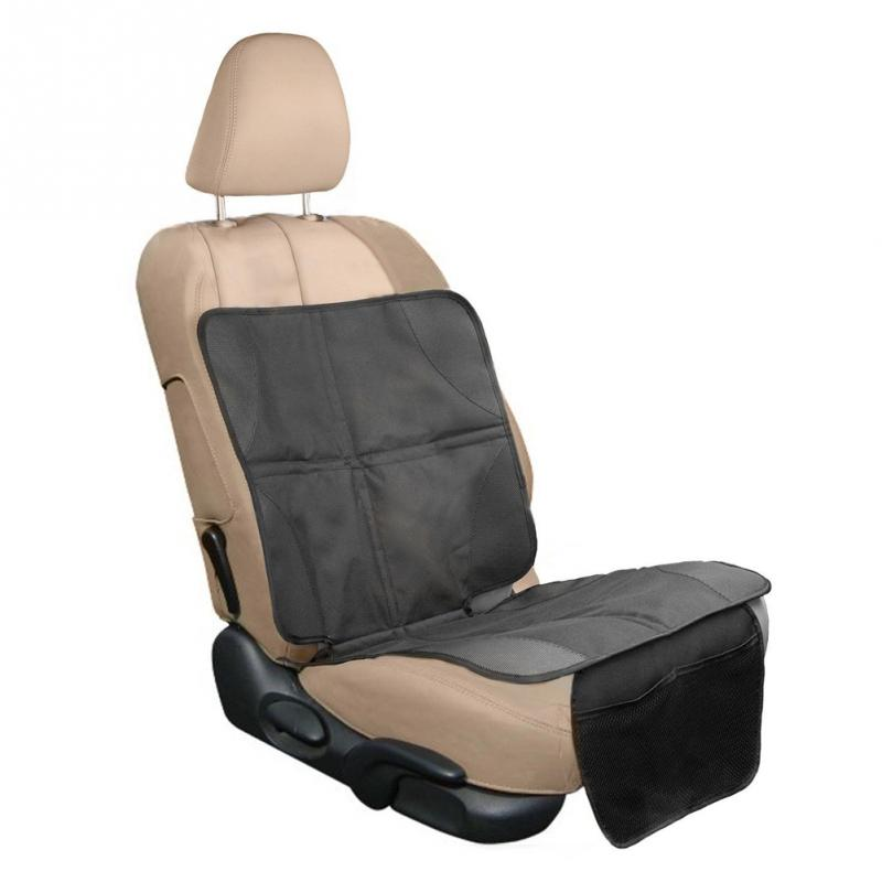 Professional Car Seat Protector Keep Nice And Clean Under Your Babys Infant Seat Black 18.1*43.3in ...