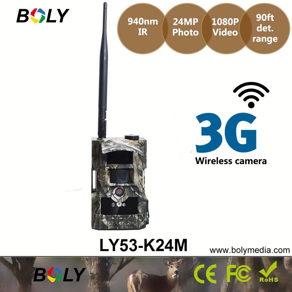 Image 4 - Беспроводная камера для фотоохоты 3g Bolyguard 24HD ночного видения Скаутинг IP65 водонепроницаемые фотографии по электронной почте и телефону фотоловушка gsm-in Камеры для охоты from Спорт и развлечения