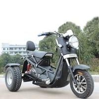 Мотоциклы Электрический скутер 3 колеса трехколесный велосипед Citycoco популярный прохладный 72 В в 1000 Вт мощный для Взрослых Велоспорт инвали