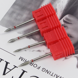 Image 2 - 8 סוגים יהלומי נייל מקדח רוטרי Burr לציפורן נקי חשמלי Bits עבור מניקור תרגיל אביזרי נייל מיל קאטר MF01 08