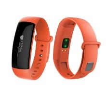 M88 Bluetooth 4.1 часы-браслет, пульс Мониторы/шагомер/вызовы напоминание трогательно Водонепроницаемый несколько языков браслет