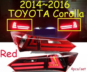 Image 5 - וידאו תצוגת רכב סטיילינג עבור פנס קורולה altis 2014 2015 LED DRL נורת hid Bi קסנון עדשת hi lo Beam חניה ערפל מנורה