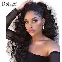 250% плотность свободные волнистые парики для волос для женщин парик бразильский На сшивке предварительно сорвал кружево спереди парик полн