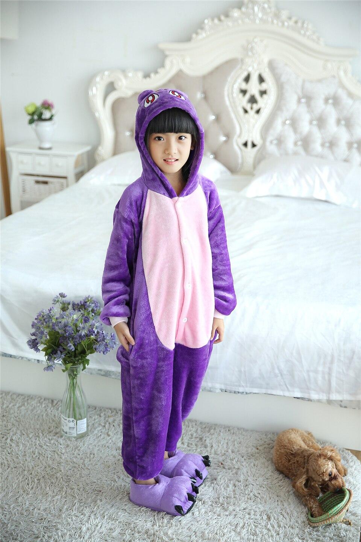 5d644463d0f5 2018 Winter Children Pajamas Purple cat baby boys clothes Autumn Children  nightgown pyjamas kids animal pijamas-in Pajama Sets from Mother   Kids on  ...