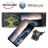 Car Radio Autoradio bluetooth 4'' screen MP5 FM/USB/USB port 12V Car Audio bluetooth 1 din auto blueooth radio cassette player