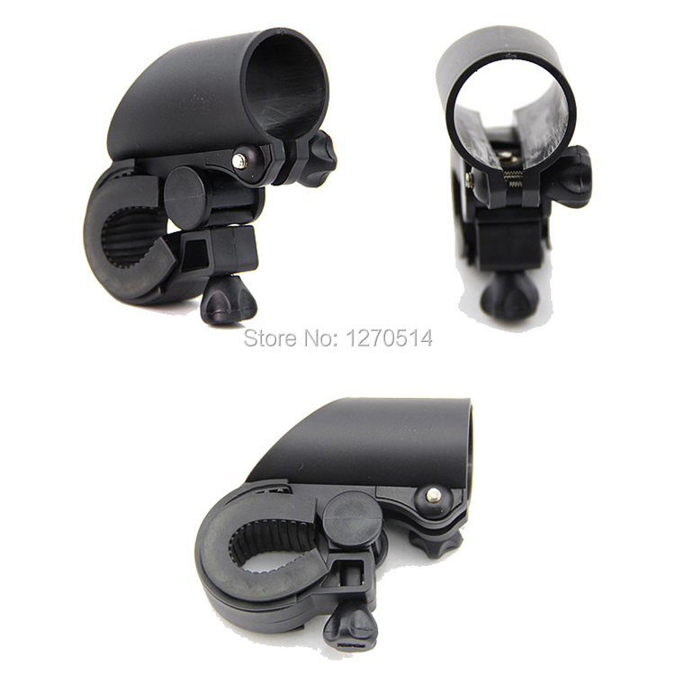 1piece , Bicycle Led Flash Light Mount Clamp Cycling Flashlight Holder Clip , Free Shipping
