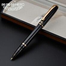 Hero penne stilografiche autentico 1079 ultrafine penna 0.38 millimetri Ufficio studenti scatola regalo di affari nero rosa giallo blu di trasporto libero