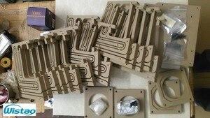 Image 4 - IWISTAO HIFI Lautsprecher Leere Schrank Kits Labyrinth Struktur mit Hoher dichte Faserplatte für 2,54 Zoll Vollständige Palette Spk Einheit DIY