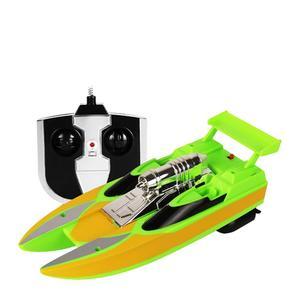 Image 4 - Kablosuz Uzaktan Kumanda Su Geçirmez Süper Mini Elektrikli Yüksek hız teknesi Gemi