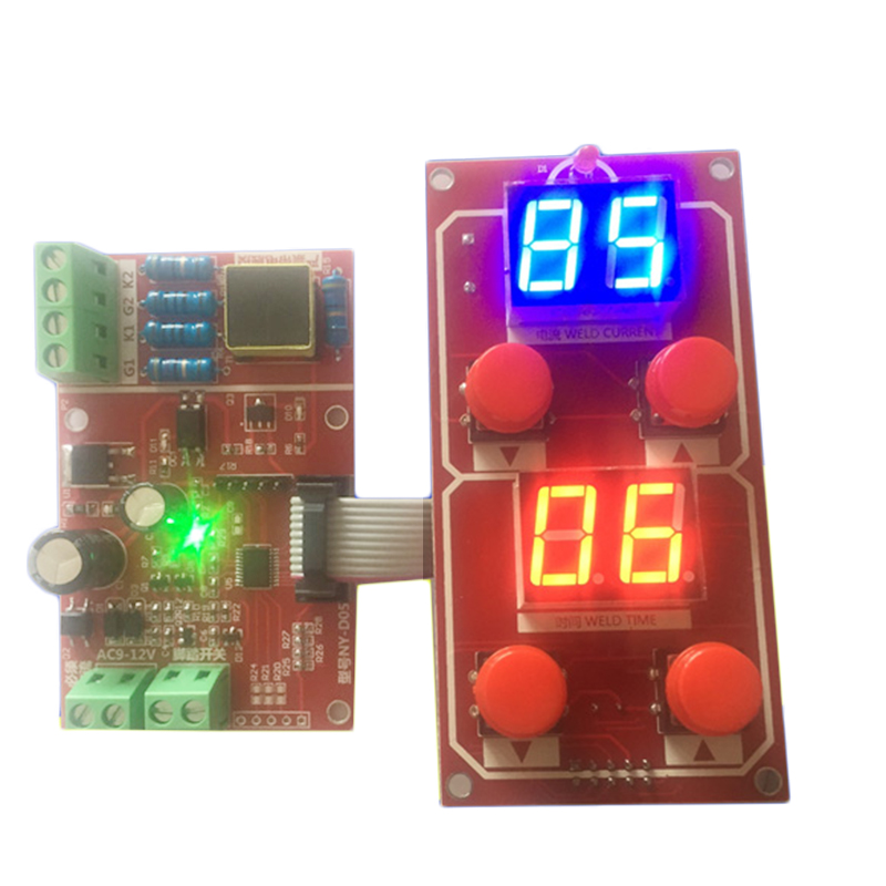 Accessories & Parts Genteel Ny-d05 Spot Welder Machine Controller Control Panel Board 500a Driver Scr Module Adjust Time Current Digital Display 220v/380v Circuits