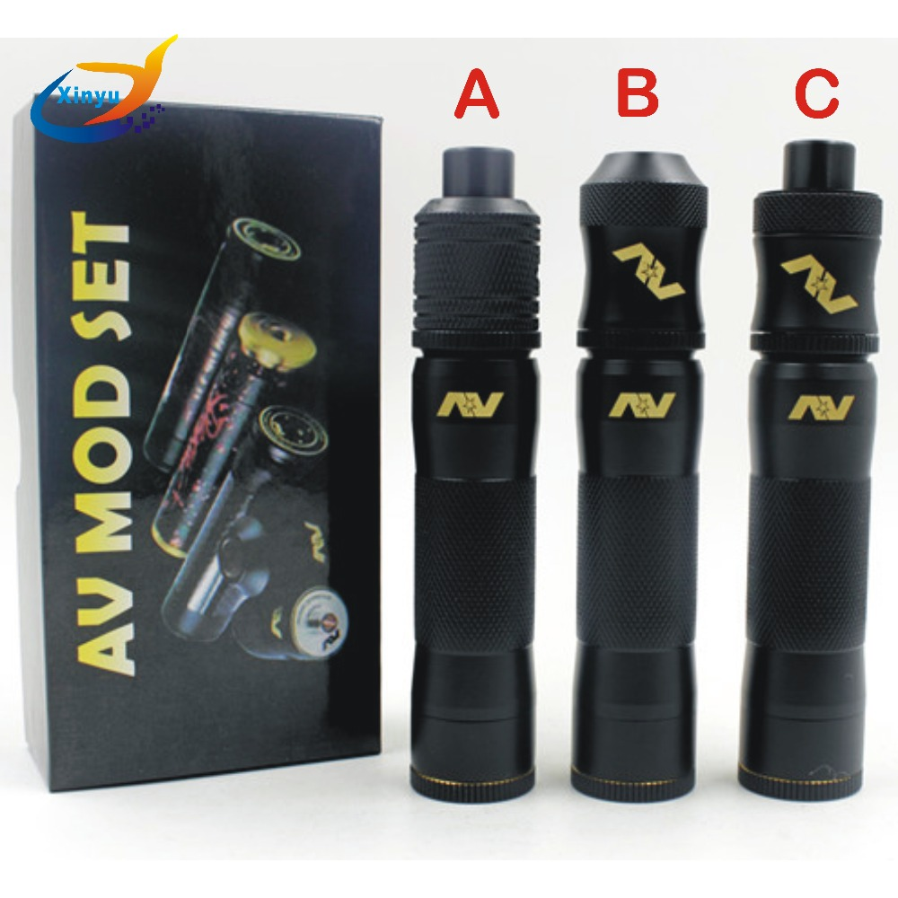 hight resolution of av m1p5 mod kit mechanical mods kit 18650 battery 510 wire with rda wiring ecig box mods the puck ecig mod