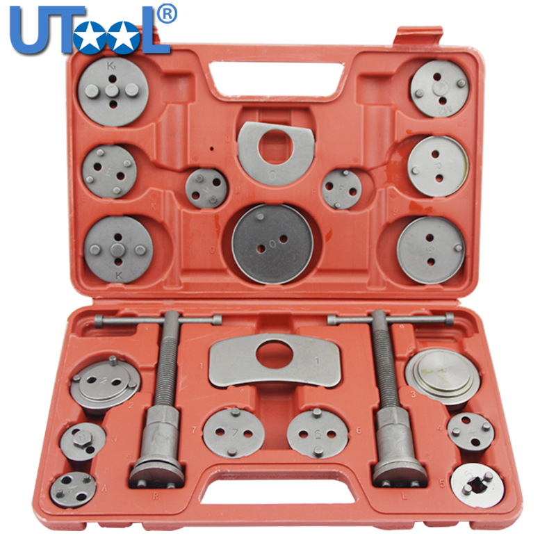 Supercrazy Brake Lining Thickness Gauge SAE /& Metric Tool Set 8 Piece SC0257