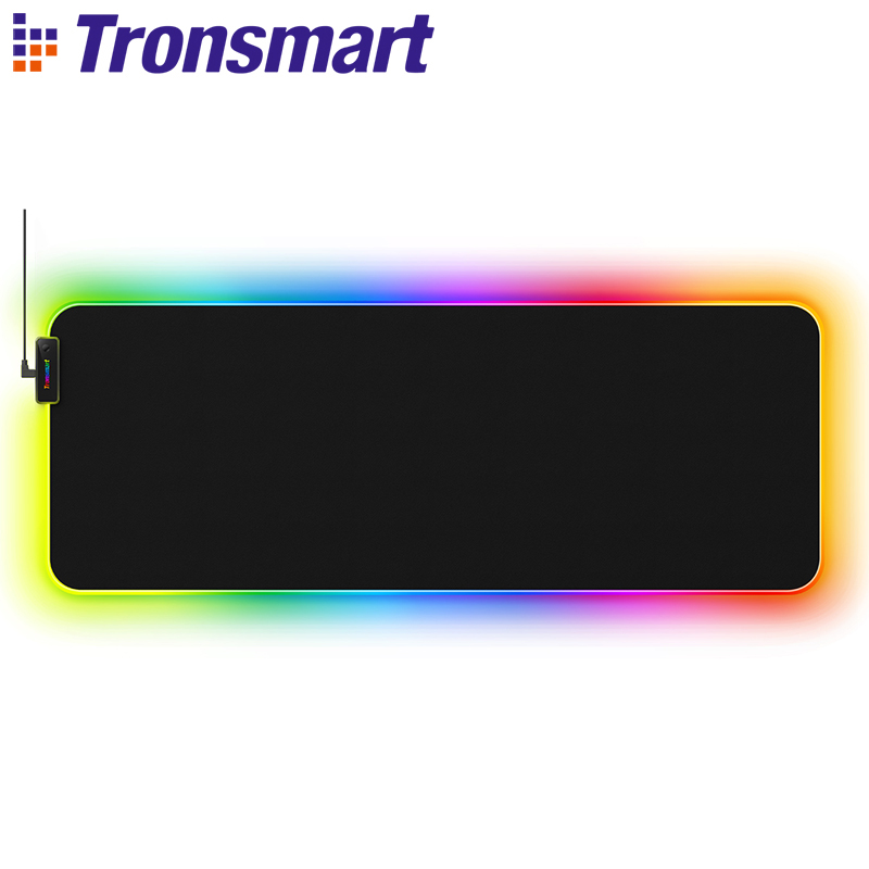 Tronsmart Spire Gaming Mouse Pad Compupter Mouse Pad Gamers RGB Large Mouse Pad With Waterproof,Non-slip For World Of Warcraft
