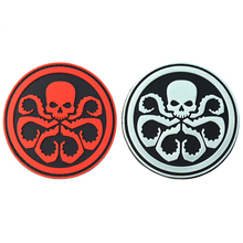 Avengers Alliance Villain Hydra Bianconeri Badge PVC/Embroidered Patches DIY Emblem For Clothing High Quality Patch