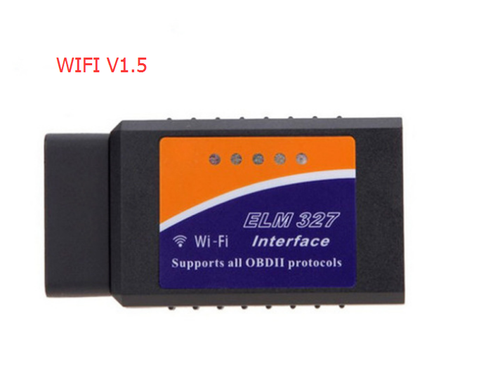 По DHL/FedEx 20 штук wifi OBD2 ELM327 для iPhone ipad iPod v1.5