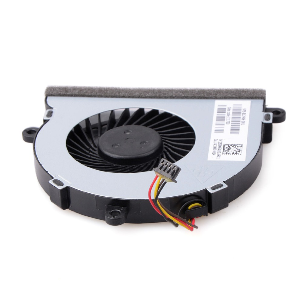 4 <font><b>Pin</b></font> Connector Cooling Fan for Computer Case CPU Cooler Radiator Computer Accessories For HP <font><b>15</b></font>-AC Notebook Cooling Fans image