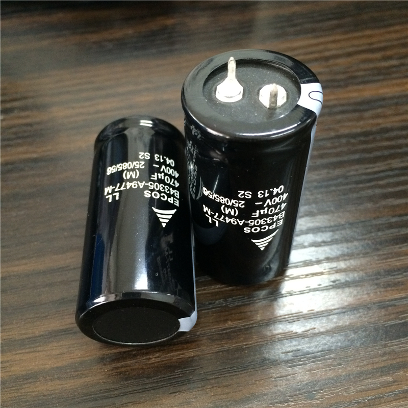 Image 2 - 10pcs 470uF 400V EPCOS B43305 Series 25x50mm 400V470uF PSU Aluminum Electrolytic capacitors-in Capacitors from Electronic Components & Supplies