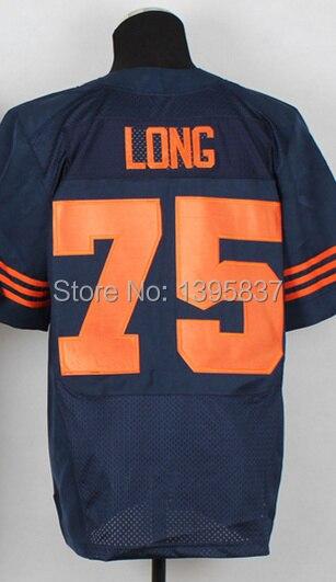 #75 Kyle Long Jersey,Elite Football Jersey,Best quality,Authentic Jersey,Size M L XL XXL XXXL,Accept Mix Order