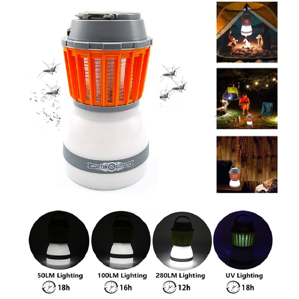 Waterproof LED Light Mosquito Killer Lamp 5V Insects Flies Pest Bug Zapper Killer Night Light For Indoor Outdoor House Garden rat catcher spring cage new 1 pieces trap outdoor humane live indoor animal rodent pest control mice cage garden home house
