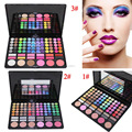 Pro 78 Color Eyeshadow Palette With Blusher/Contour Powder/Lipgloss Fashion Eye Shadow Makeup Set 3 Model