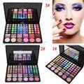 Pro 78 Cores Da Paleta Da Sombra Com Blush/Pó de Contorno/Lipgloss Moda Sombra de Olho Maquiagem Conjunto 3 Modelo