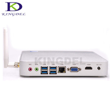 Низкой Мощности X86 Мини-Компьютер 1037U Celeron 1007U Двухъядерный 1.8 ГГц 2 * Lan Тонкий Клиент Мини Barebone PC сервер