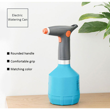 Portable Electric Airbrush USB Charging Watering Spray Gun 2000mAh 1000ml Water Mist Sprayer with Adjustable Spray Nozzle sprayer charging nano spray water meter adjustable rotary nozzle head moisturizing hairdressing easy to use