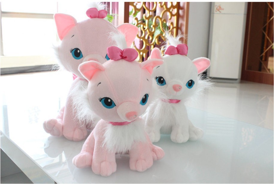 High Quality Cat Plush Stuffed Doll 50cm cat plush toy Mary cat doll lovers gift 1pair/lot the last airbender resource appa avatar stuffed plush doll toy x mas gift 50cm