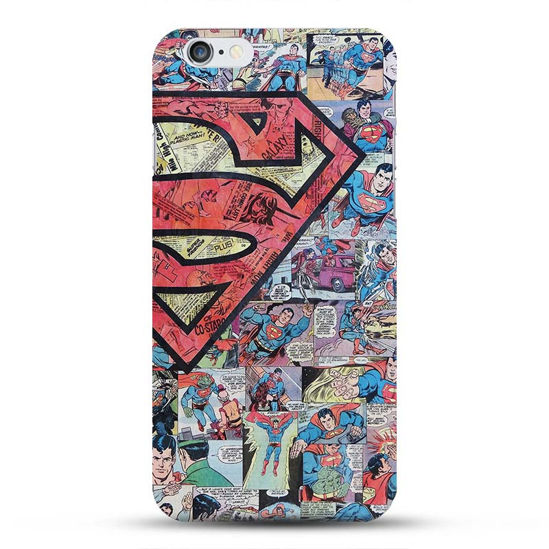 size 40 0c69b 04242 US $1.42 5% OFF|Marvel Avengers Spider man Dark Knight Hard Case Cover for  iPhone 6 6s Batman Superman S logo Captain America Shield 10 Designs-in ...