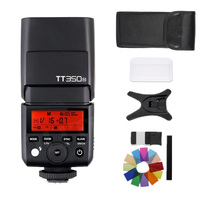 GODOX TT350N para Nikon D7100 D7200 D7500 D5600 D5200 D5100 D5500 câmera 2.4G HSS 1/8000 s TTL Flash Speedlite GN36 + dom gratuito|Flashes| |  -