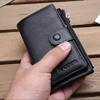 High Quality Genuine Leather Key Wallet 2017 New Arrival Housekeeper Card Key Holders Coin Purses Holders Zipper A512