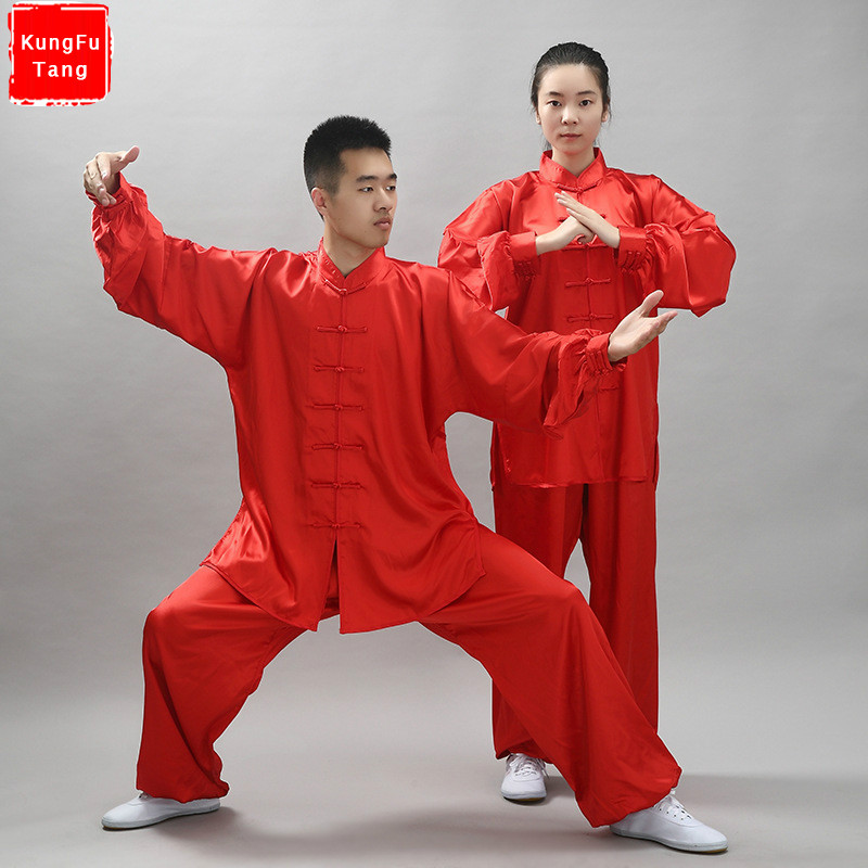 Chinese Kung Fu Wushu Clothes Shaolin Suit Kungfu Tai chi Uniform Traditional Chinese Dress Martial Art Clothing for men women 12colors chinese tai chi clothing kung fu uniform wushu clothes tai ji martial arts performance suit costumes for men women kids