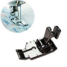 1pcs Metal 1/4 Cloth Fabric DIY Sewing Machine Foot with Low Handles New Arrivals Quilting Household Parts
