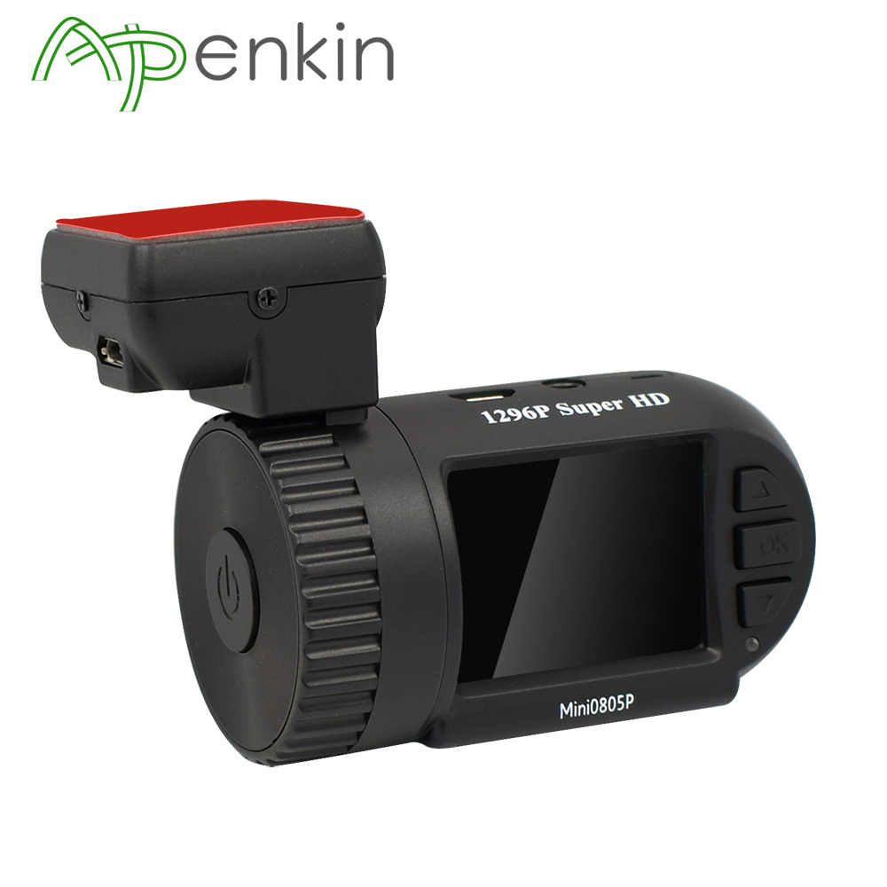 Arpenkin Mini 0805P Full HD Car Dash Camera 1080P G-senser Night Vision Video Recorder GPS Voltage Protection Capacitor Car DVR