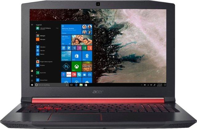 Acer - Nitro 5 15.6 Laptop - Intel Core i5 - 8GB Memory - NVIDIA GeForce GTX 1050 - 1TB Hard Drive - Shale Black