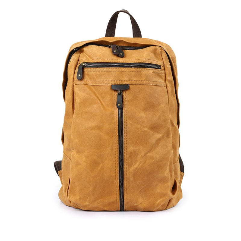 M143 New Vintage Waterproof Canvas Men Backpacks Female Designer Leather School Laptop Backpacks for Girls Travel Shoulder Bag itap 143 2 редуктор давления
