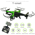 XBM-38W Remote Control Helicopter 0.3MP HD Camera 6 Axis Gyro Quadcopter 2.4GHz Frequency 4 Channels  Dron