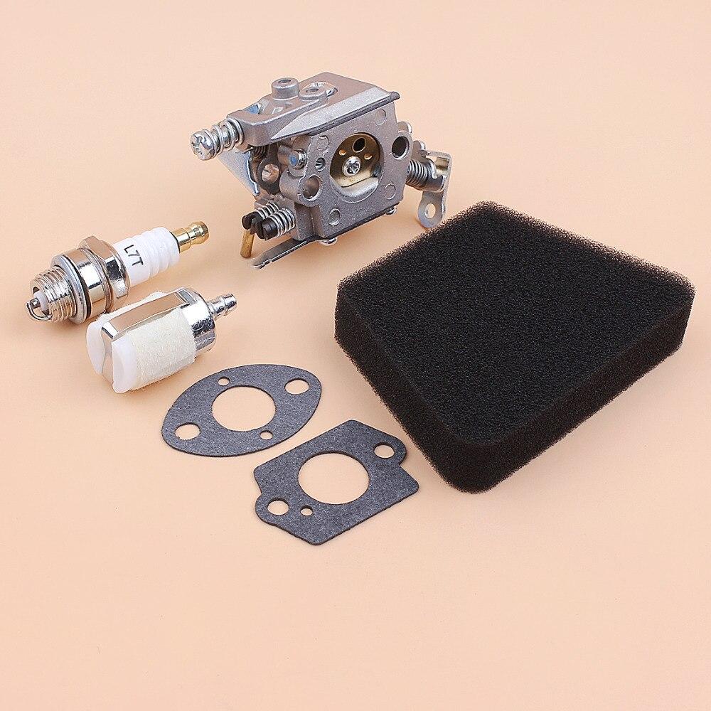 קרסים עופרות אביזרים וביגוד קיט אטם מסנן האוויר דלק פחמימות קרבורטור עבור פרטנר 350 351 מקול
