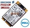Desbloqueado DW5550 F5521gw Ericsson inalámbrico 3 G Mini PCI-E Card para Dell WCDMA HSPA WWAN banda ancha móvil HSPA 3 G tarjeta Wlan GPS
