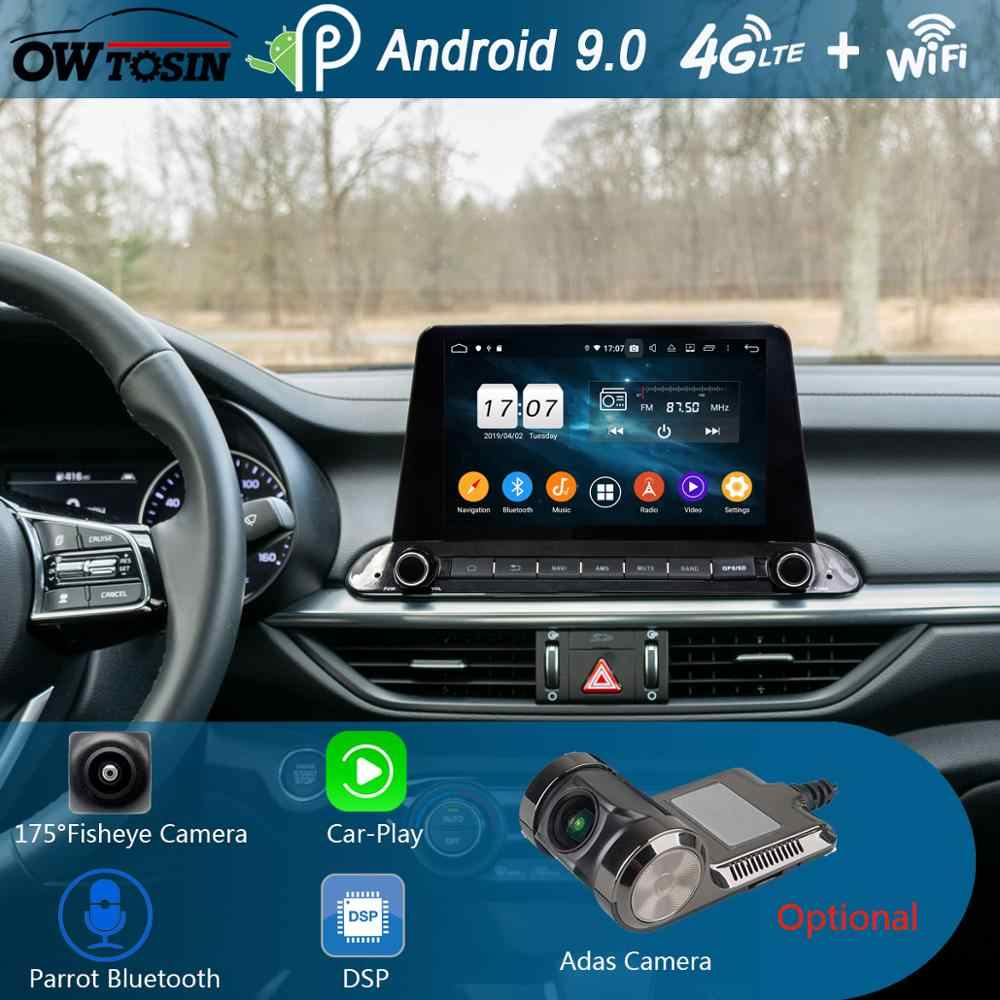 "9 ""IPS 8 Core 4G + 64G Android 9,0 coche DVD reproductor Multimedia para Kia Cerato Forte 2018 de 2019 navegación GPS Radio loro BT CarPlay"