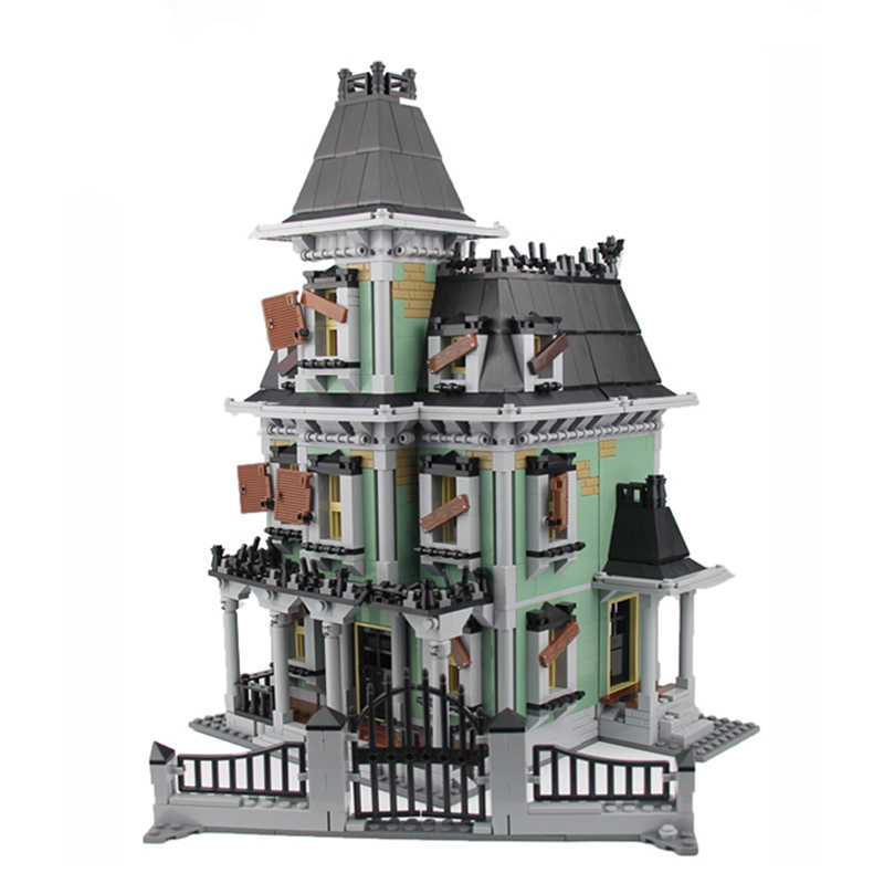 New LEPIN 16007 2141Pcs Monster fighter The haunted house Model set Building Kits Model Compatible With 10228 куплю москвич 2141 в костроме