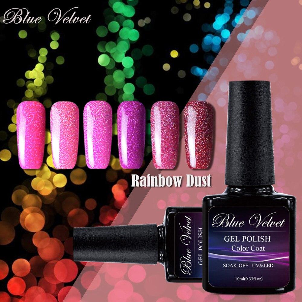 Aliexpress.com : Buy Blue Velvet 10ml Rainbow Dust Lacquer