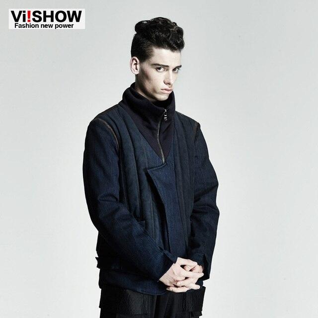 VIISHOW 2016 Hot Parka Men Winter Jacket Men Overcoat Fashion Thickening Cotton-Padded Men Clothes Jacket Oversize 3XL MC41246