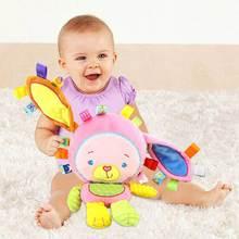 Игрушки для малышей милые животные погремушки плюшевая Успокаивающая