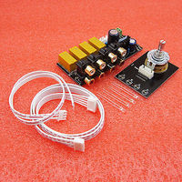 Audio Input Signal Selector Signal Switching Relay Board Amplifier Board RCA