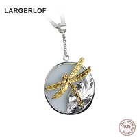 LARGERLOF Real 925 Sterling Silver Pendant Necklaces Fashion Jewelry Silver Pendant 925 PE50002