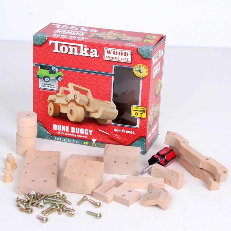Tonka, brinquedo de madeira, bebê, presente do carro, kit de avião de madeira, sistema de ezconstrução, personalize frete grátis, 1 peça