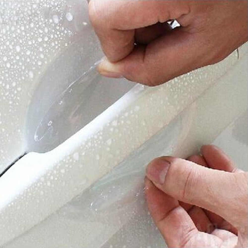 2018 חדש רכב ידית דלת מדבקות מגן סרט עבור סובארו פורסטר אימפרזה אאוטבק Legacy XV שברולט Cruze Aveo אביזרים